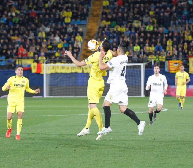 IMG 20190411 WA0030 1 650x567 - Las fotos del Villarreal-Valencia (Europa League)