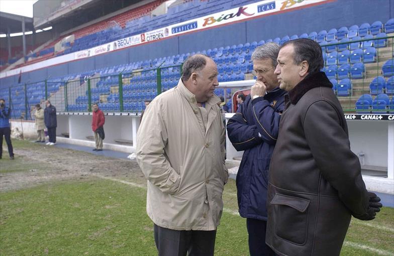 Pepe Rey y Benito Floro, los entrenadores que dimitieron