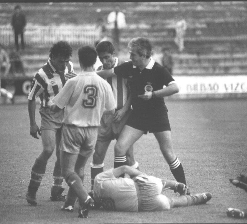 girona villarreal 1992 - El Villarreal en Montilivi