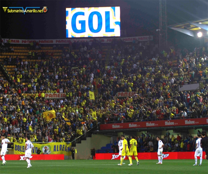 Partidos en los que el Villarreal perdía en algún momento (2011/12)