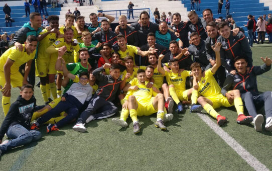 El Villarreal Juvenil campeón