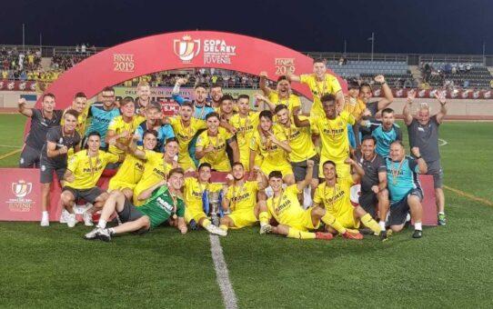 El Villarreal Juvenil campeón de Copa del Rey