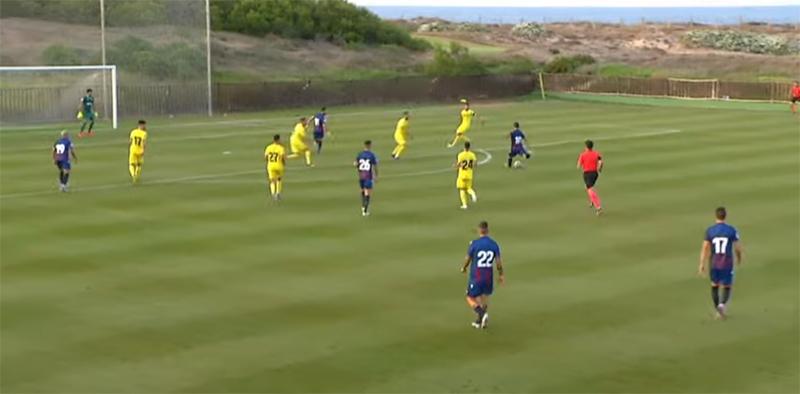 Villarreal 2 Levante 1 - 20-7-2019. Villarreal 2-Levante 1.