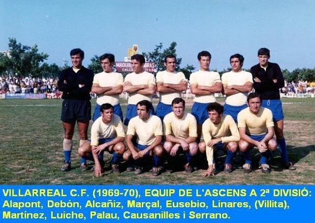ascenso villarreal 1970 - Se cumplen 49 años del primer ascenso a Segunda del Villarreal