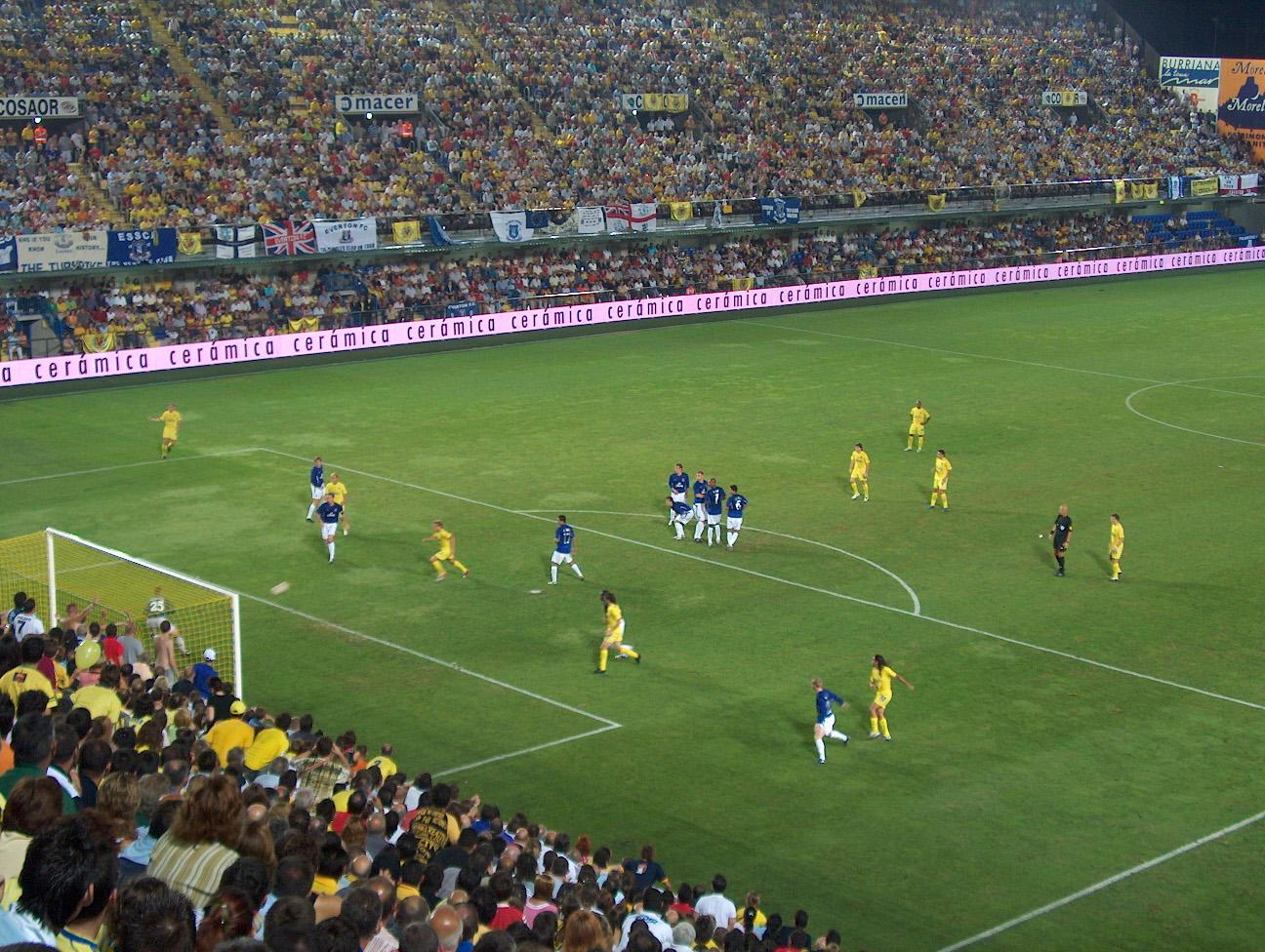 VILLARREAL EVERTON - Se cumplen 14 años del Everton-Villarreal