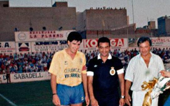 El día que un Maradona jugó en El Madrigal
