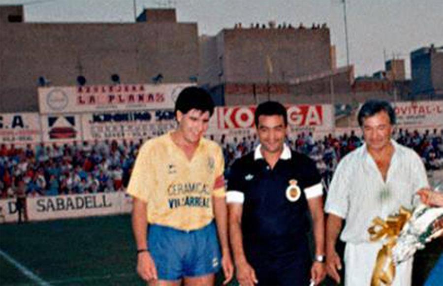 monfi - El día que un Maradona jugó en El Madrigal