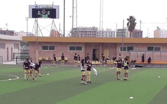 Las chicas del Villarreal ganan 5-0 al Collerense