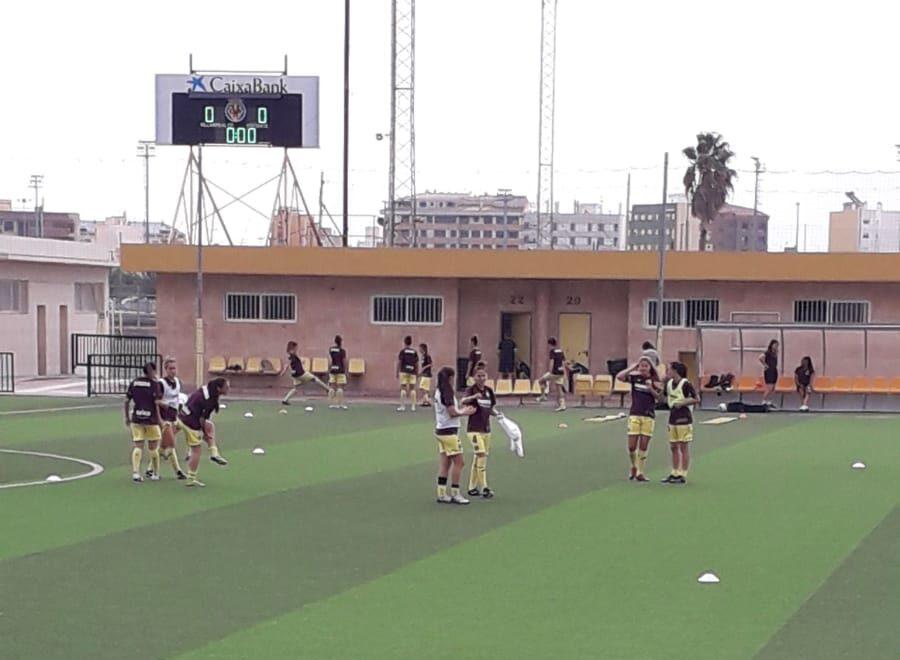 IMG 20190915 WA0006 e1568567957322 - Las chicas del Villarreal ganan 5-0 al Collerense