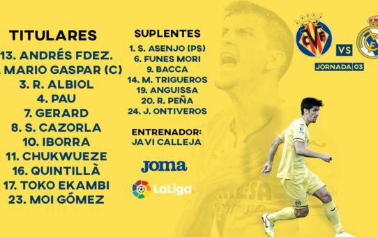 Villarreal-Real Madrid EN DIRECTO