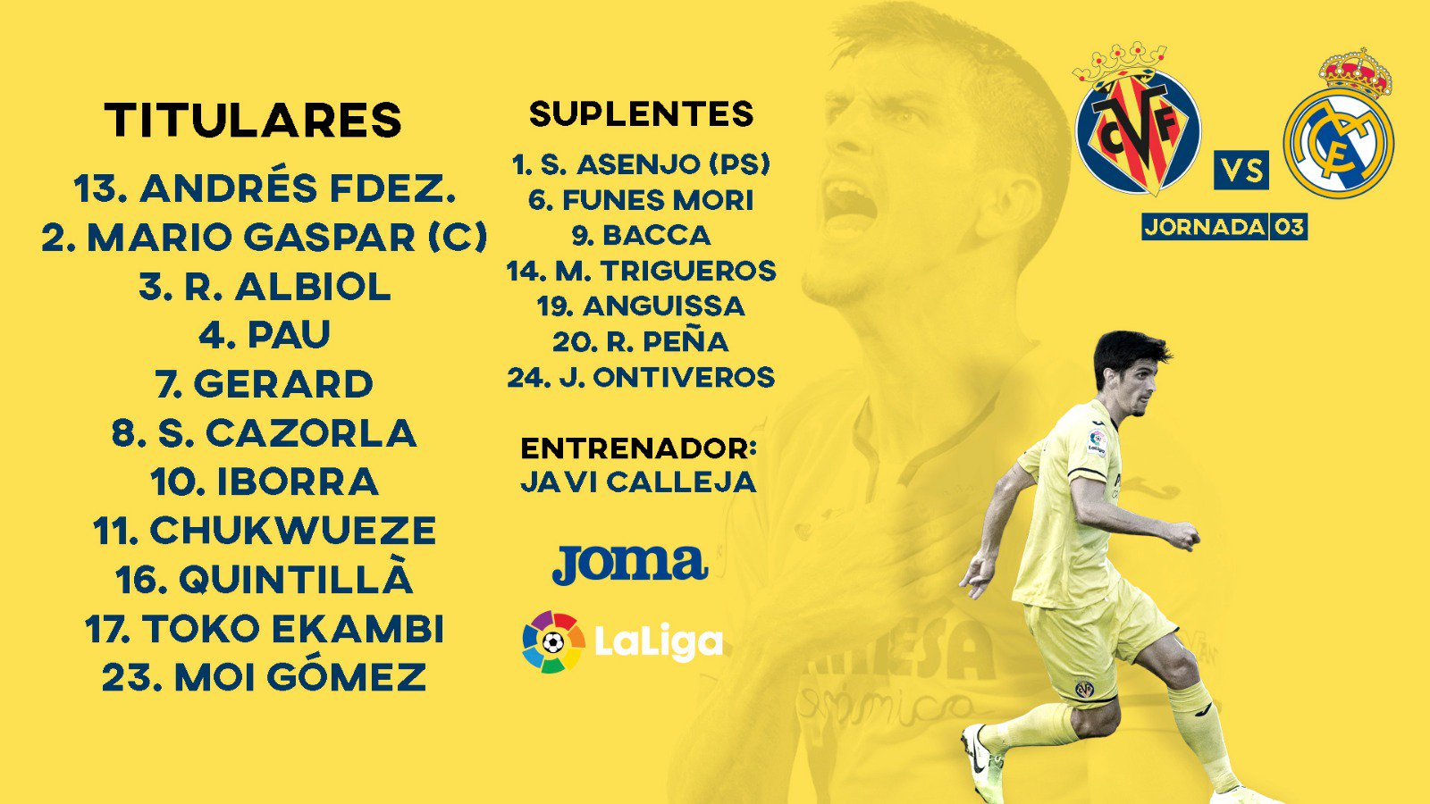 Villarreal-Real Madrid EN DIRECTO