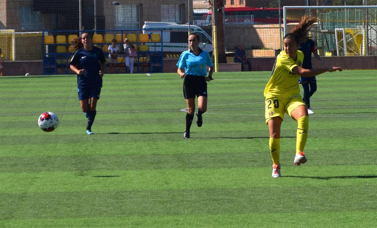 villarreal femenino2 - Primer empate del Villarreal Femenino