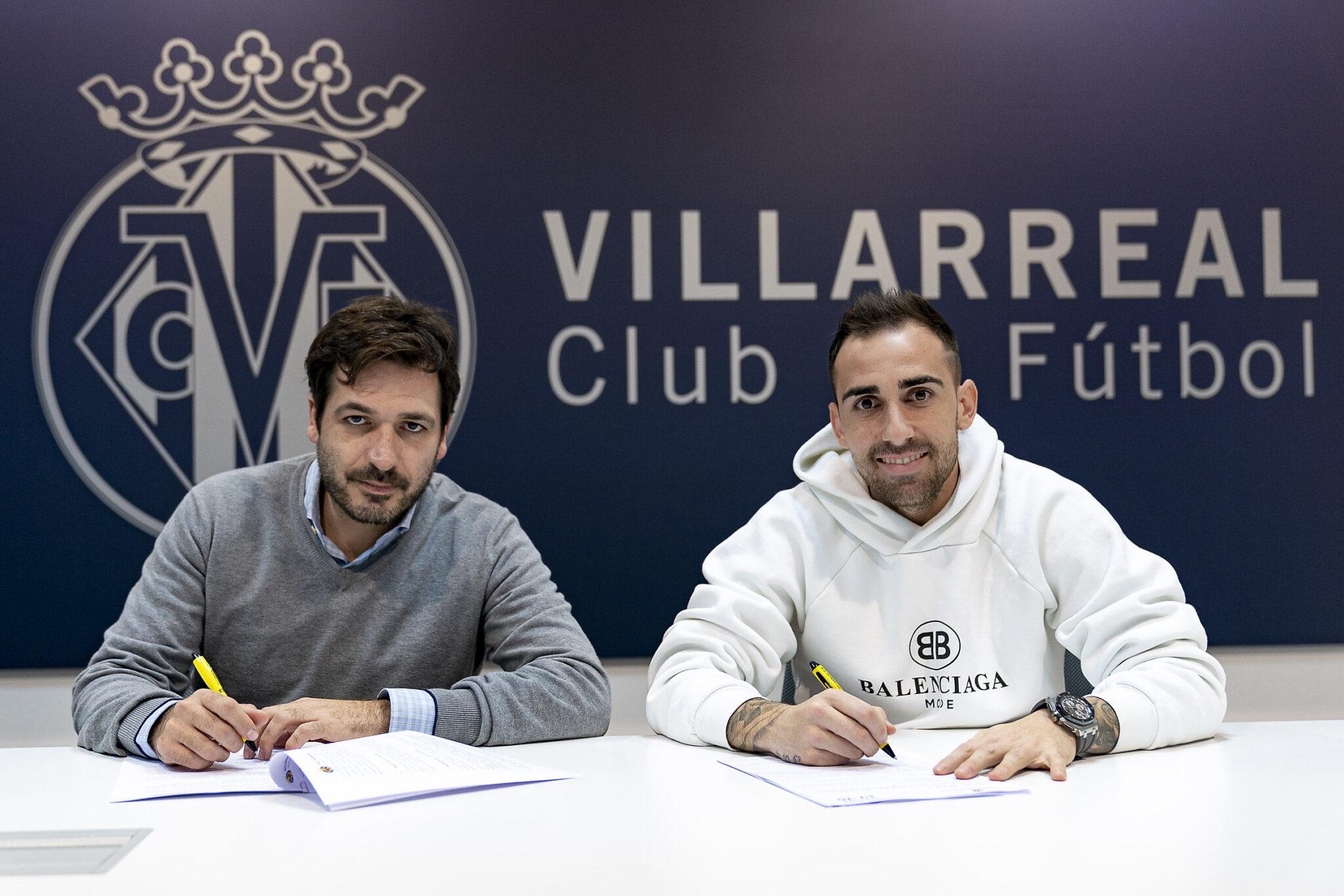 Paco Alcácer el fichaje más caro de la historia del Villarreal