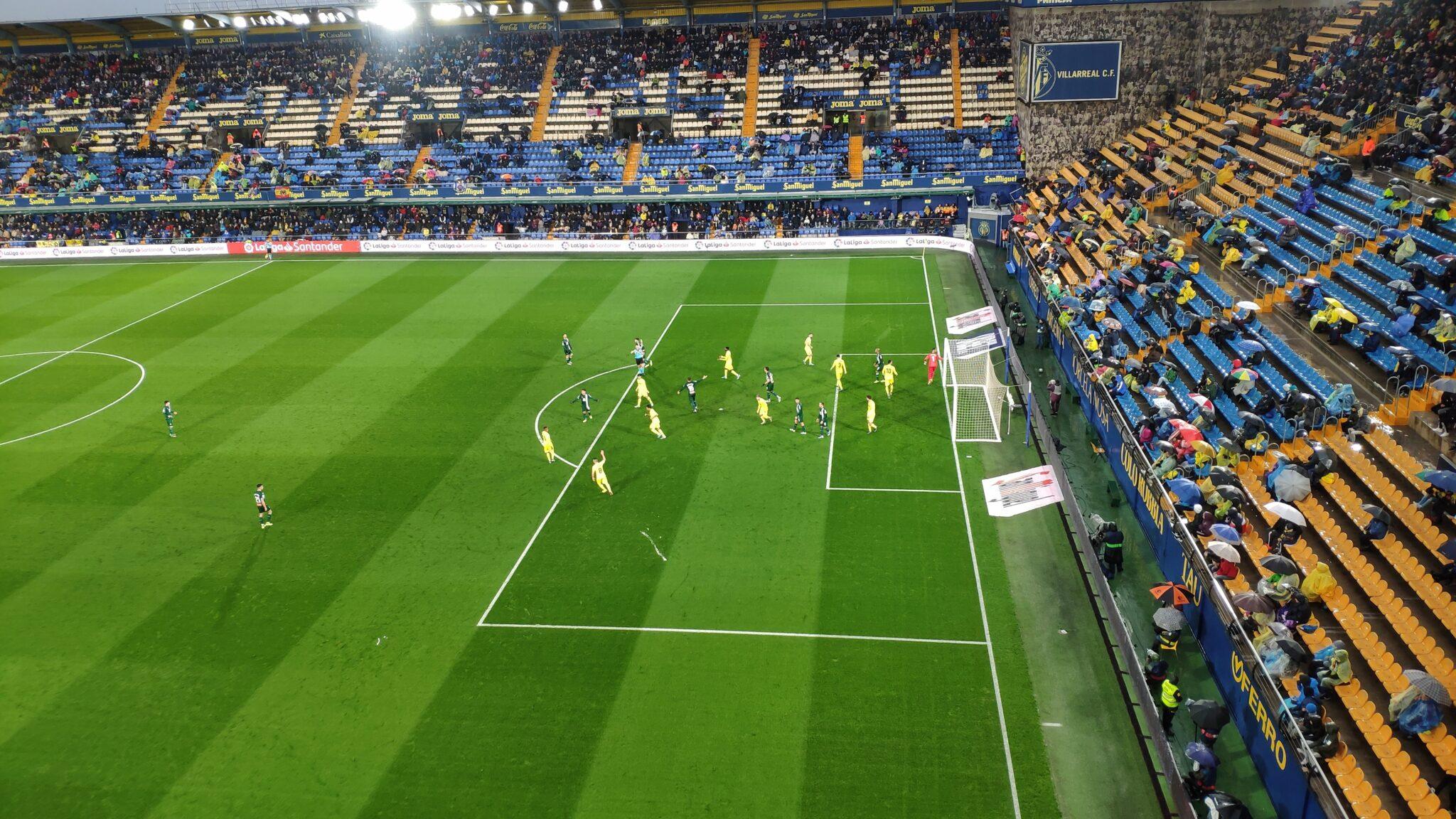 El Villarreal no se sintió cómodo ante el Espanyol