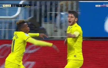 Alcácer, un jugador más que se estrena como goleador en su debut amarillo