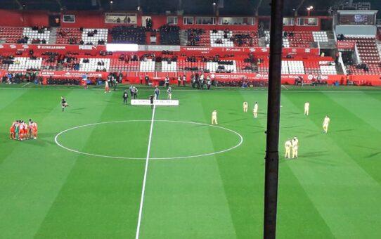 Girona-Villarreal, el partido de las 1.000 personas
