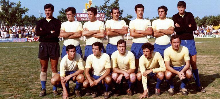 Histórico Villarreal CF. Se cumplirán 50 años del ascenso a Segunda
