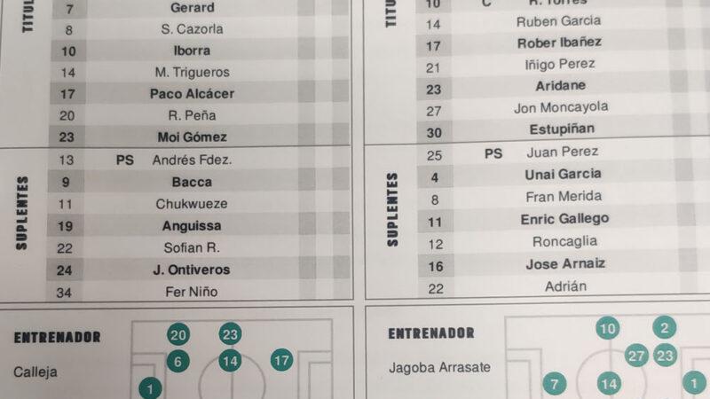 Villarreal-Osasuna EN DIRECTO