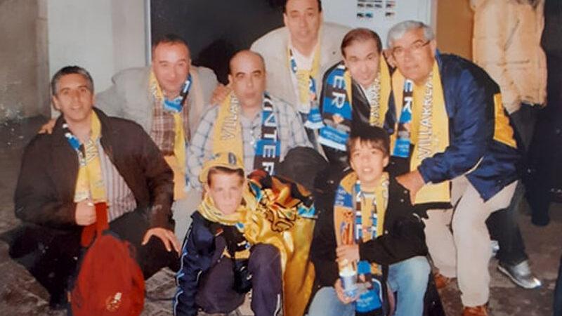 El Villarreal un 29 de marzo. Eliminatoria ante el Inter, ida