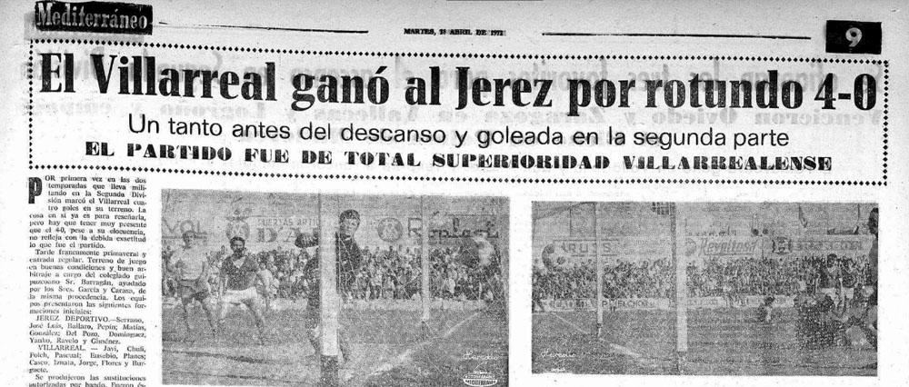 El Villarreal un 16 de abril