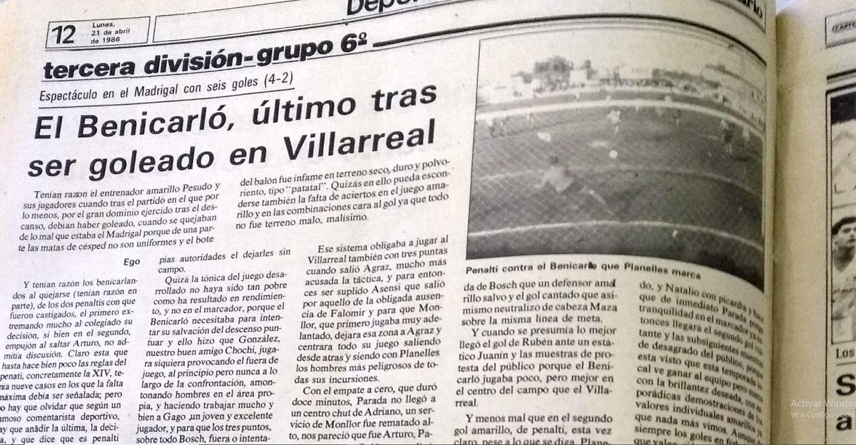 El Villarreal un 20 de abril