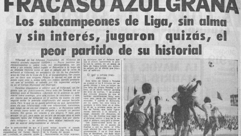 El Villarreal un 24 de abril