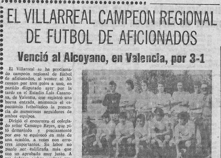 El Villarreal un 6 de Abril