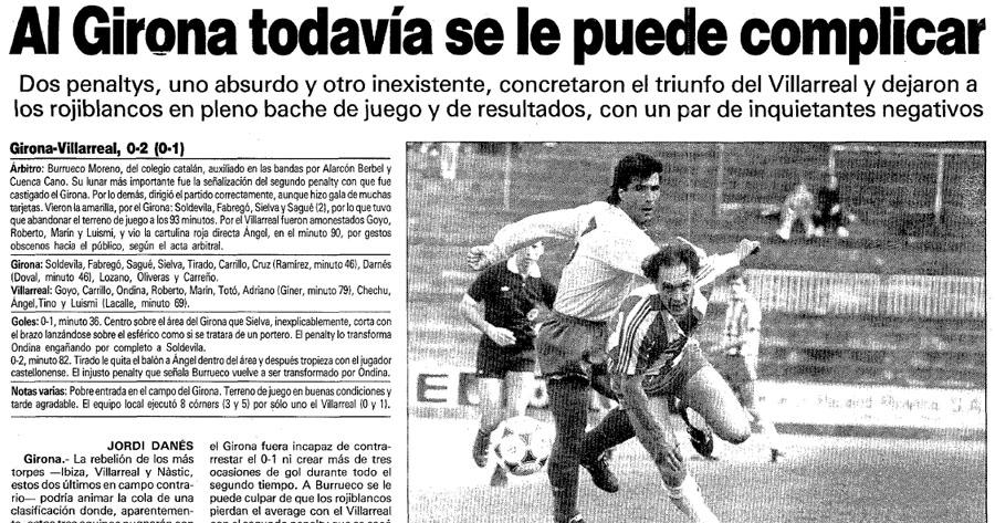 El Villarreal un 8 de Abril