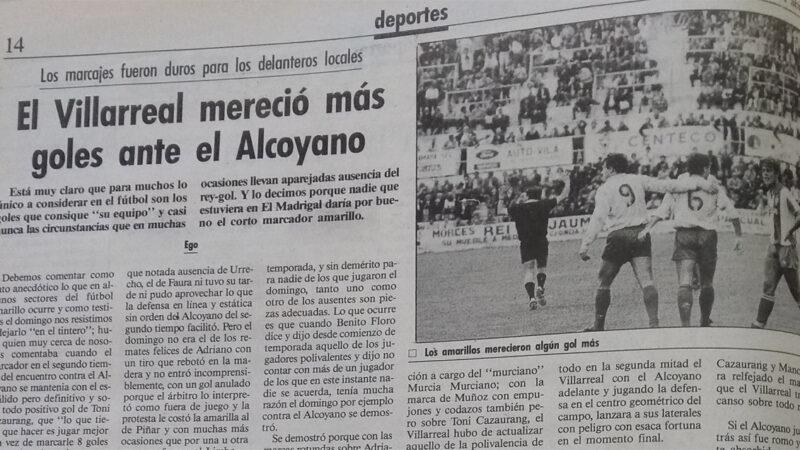 El Villarreal un 9 de Abril