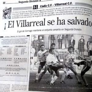 El Villarreal un 15 de mayo