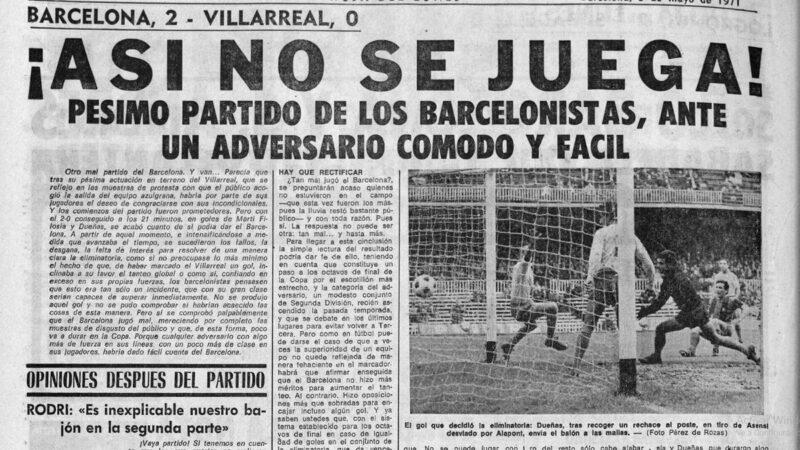 El Villarreal un 2 de mayo