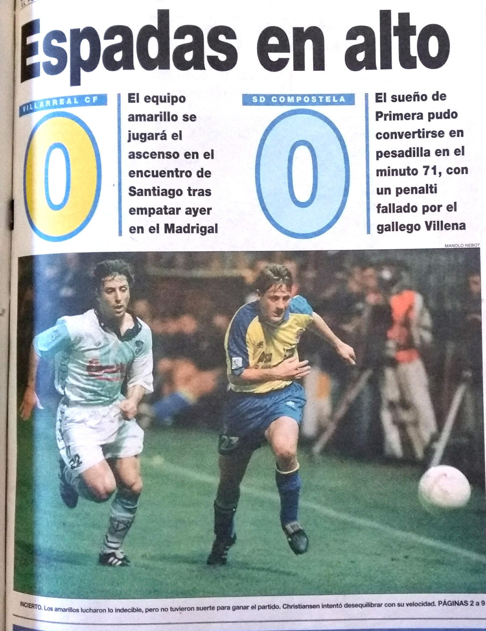El Villarreal un 21 de mayo