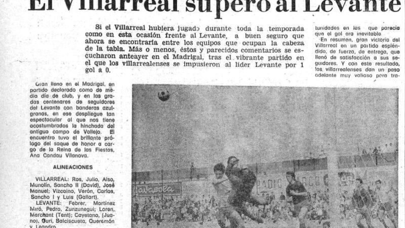 El Villarreal un 23 de mayo