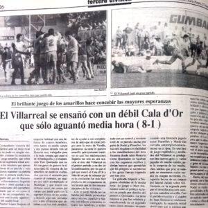 El Villarreal un 26 de mayo