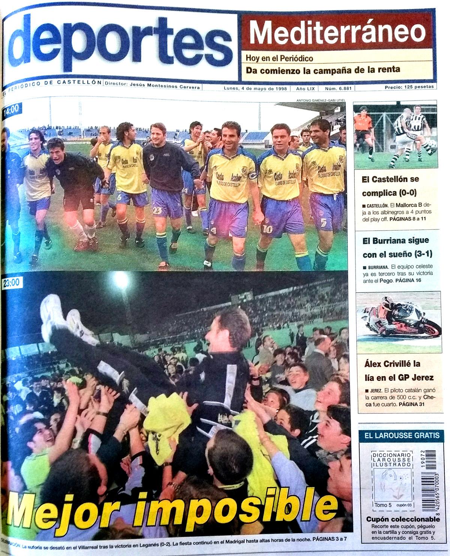 El Villarreal un 3 de mayo