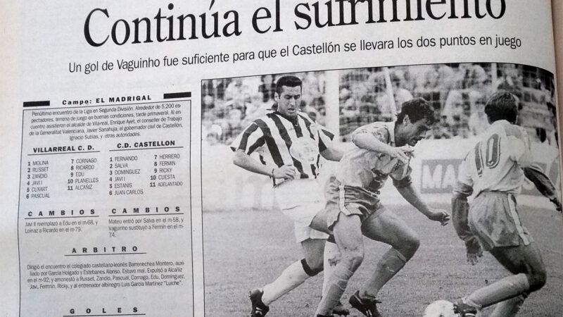 El Villarreal un 8 de mayo