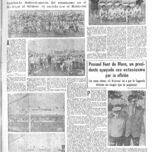 El Villarreal un 31 de mayo