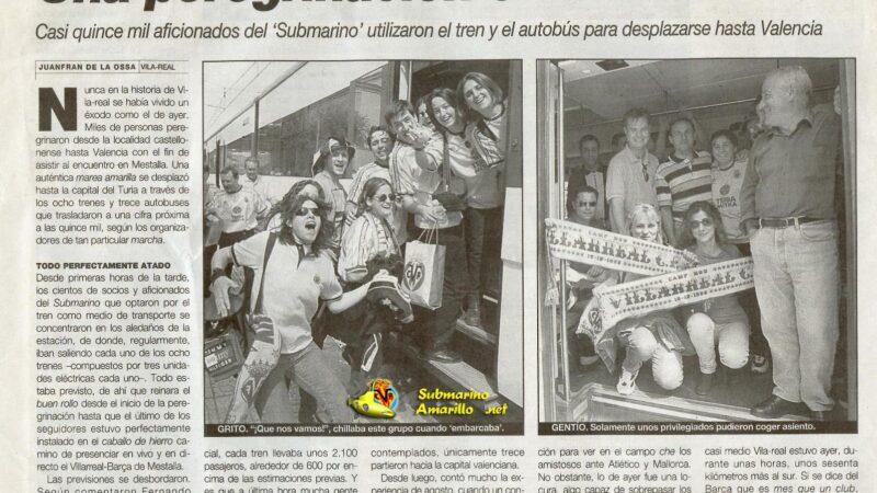 El Villarreal un 9 de mayo