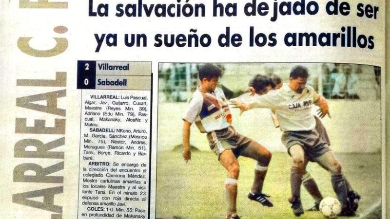 El Villarreal un 10 de mayo