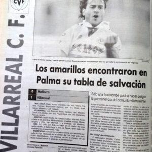 El Villarreal un 12 de junio
