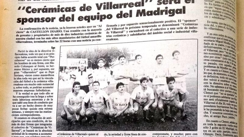 El Villarreal un 7 de junio