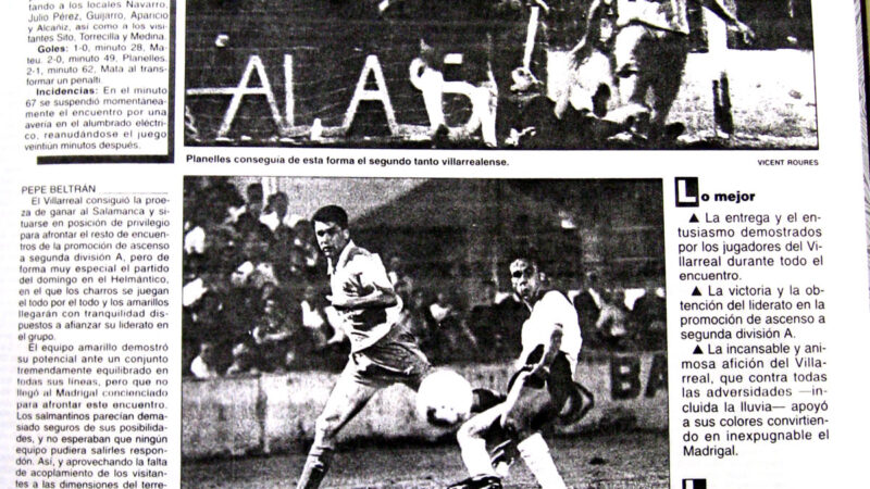 El Villarreal un 3 de junio
