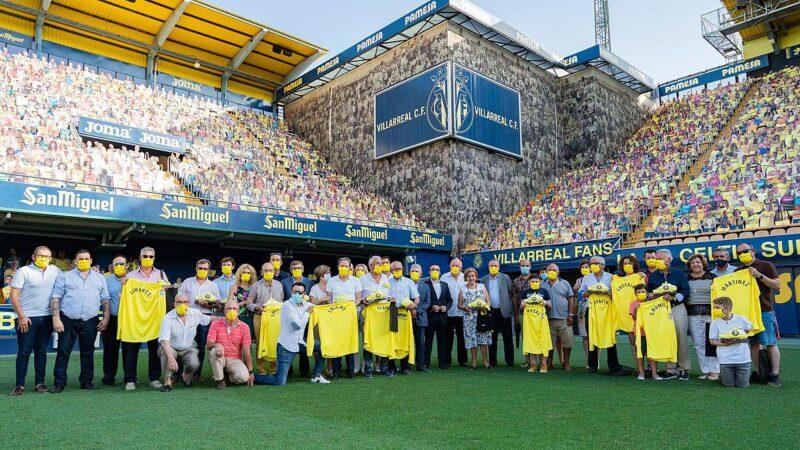 Los héroes groguets del primer ascenso a 2ªA homenajeados 50 años después