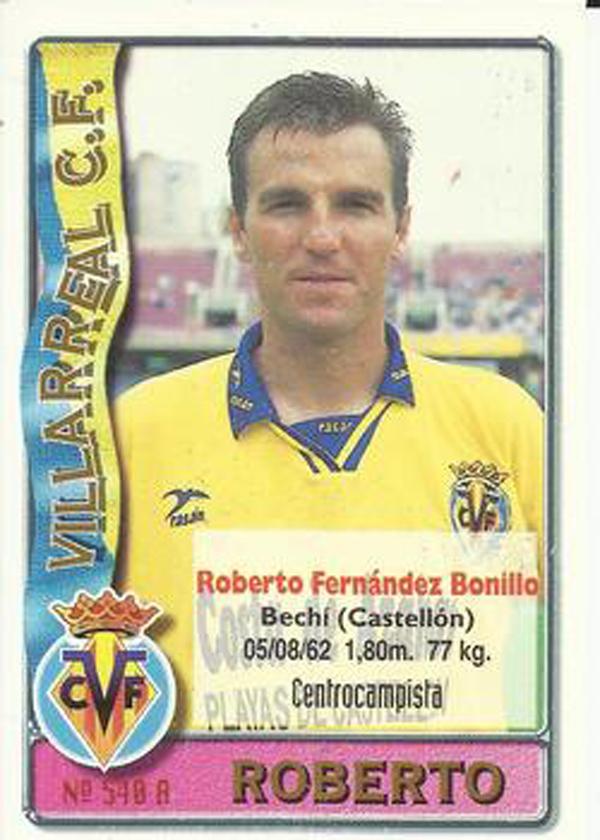Roberto Fernández. El Villarreal un 28 de julio