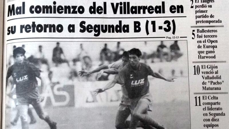 El Villarreal un 1 de septiembre