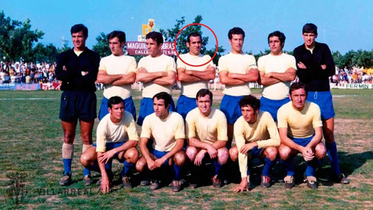 Ha fallecido Marzal, uno de los héroes del Villarreal de 1970