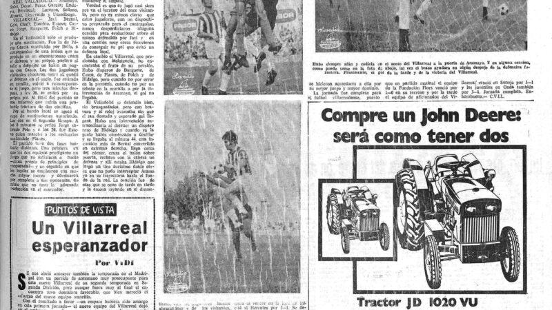 El Villarreal un 12 de septiembre