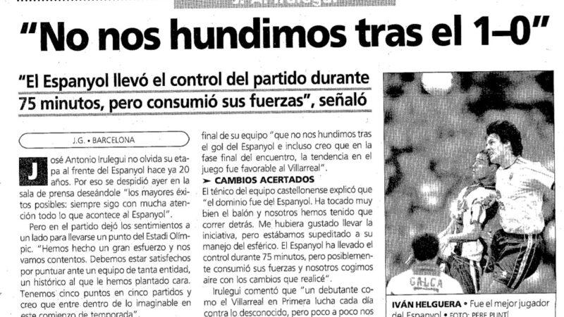 El Villarreal un 4 de octubre