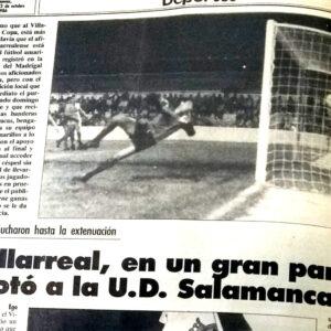 La UD Salamanca eliminada. El Villarreal un 22 de octubre
