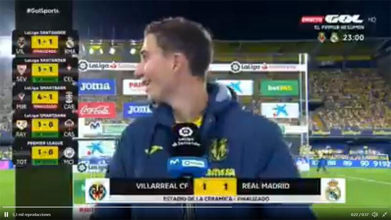 """Se hace viral un video que borró Gol: Emery """"Mecagüen diez la preguntita…"""""""